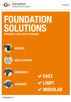Geoplast Foundations solutions