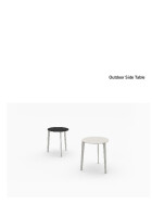 Bensen Outdoor Side Table product sheet