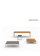 Bensen Outdoor Able Table product sheet
