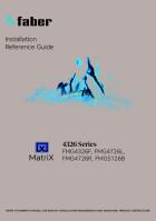 MatriX Installation Manual