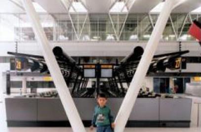 Departures Amsterdam Airport Schiphol