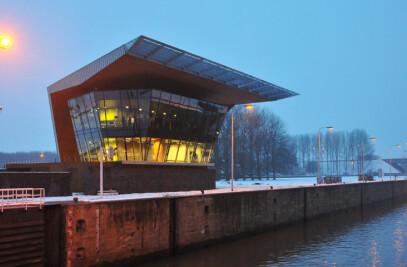 Control Building Volkerak Locks