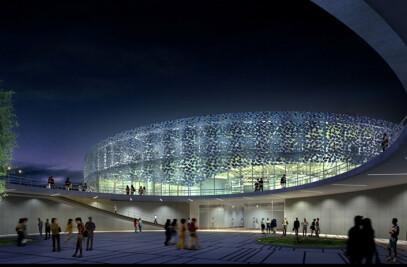 Olympic Badminton Arena Beijing