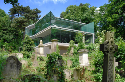 House in Highgate Cemetary