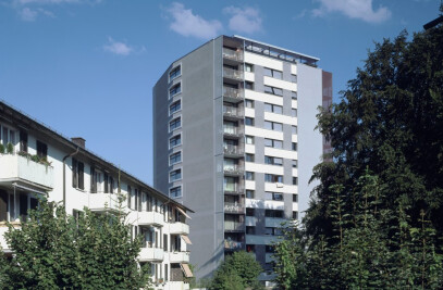 Extension and Refurbishment of a Residential Tower Weberstrasse