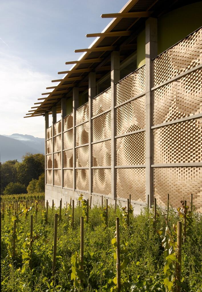 Gantenbein Vineyard Facade