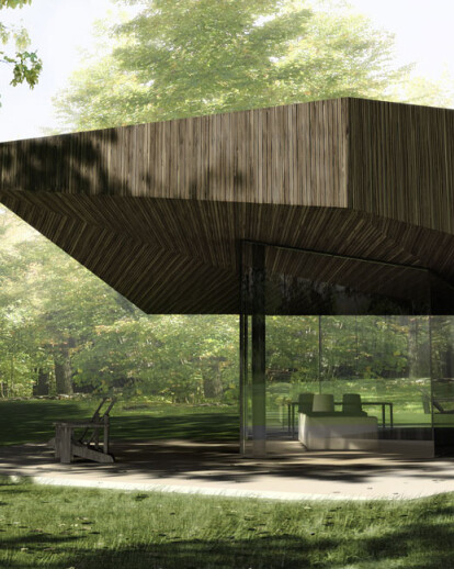 Educational Cottages at Fallingwater - Competition Finalist