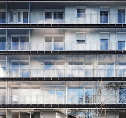 Balcony glazing SL 25 XXL