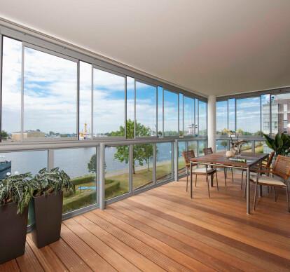 Balcony glazing SL 25R
