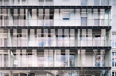 Apartment block on Bodenseestrasse