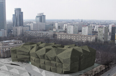 THE MUSEUM OF MODERN ART IN WARSAW