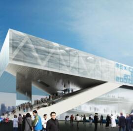 Mexican Pavilion at Shanghai