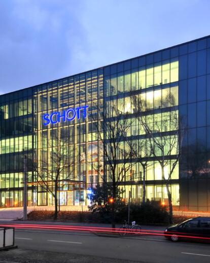 The modernized SCHOTT corporate headquarters