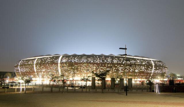 The Soccer City Stadium