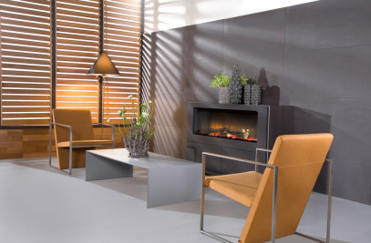 Faber Electric Fireplace Rose 1