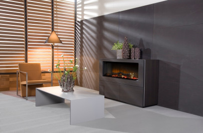 Faber Electric Fireplace Rose 2