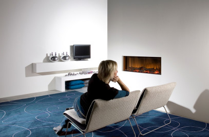 Faber Electrical Fireplace Vega Widescreen