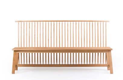Bench with back - 444