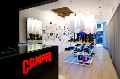 Camper Paris showroom