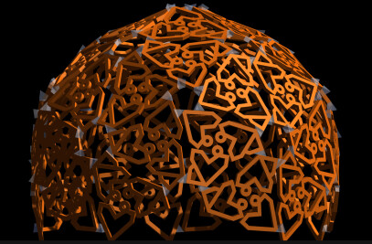 Dodecahedron Sculpture