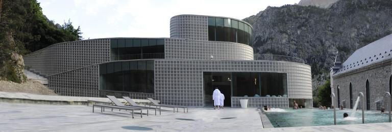 Tiberio's Baths - terrace