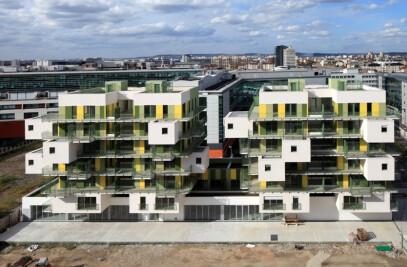 28 social housing units