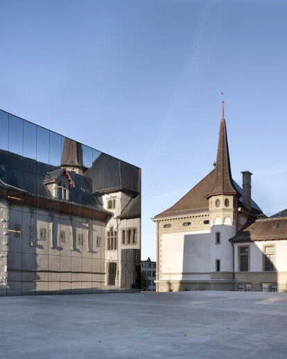 Extension to the Historisches Museum in Bern