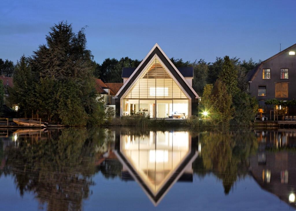 A house in a church