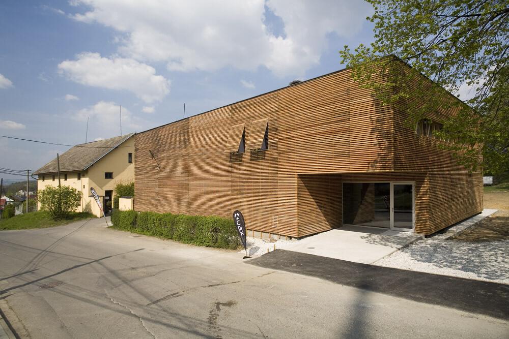 UAX headquarters and store in Bernartice nad Odrou