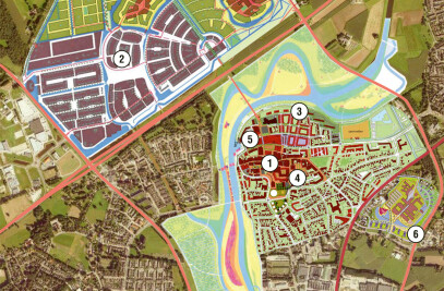 Master Plan for the City Centre of Hardenberg