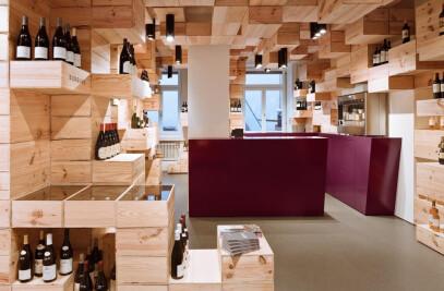 Albert Reichmuth wine store