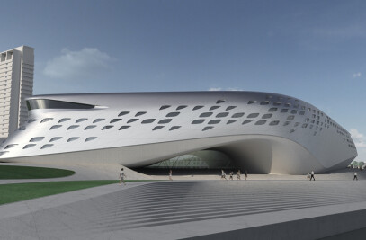 Design for Proposed Museum in Vilnius