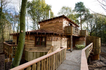 Tree Houses - Center Parcs Sherwood Forest