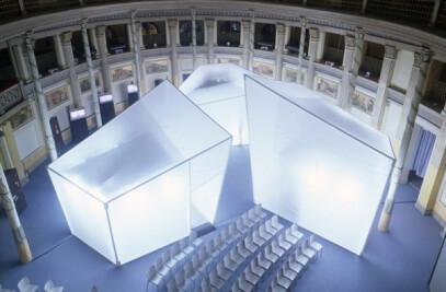 Mostra In_side - Esibizione all'interno dell'Acquario Romano