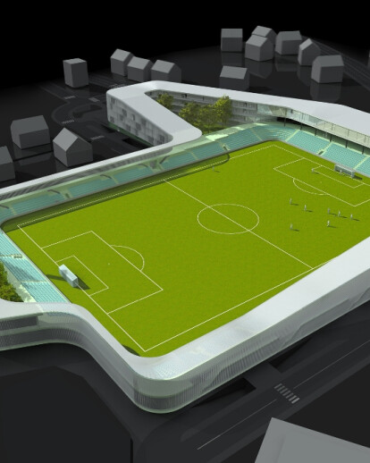 City soccer stadium Lapad