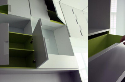 'Upside Down Wall' Townhouse