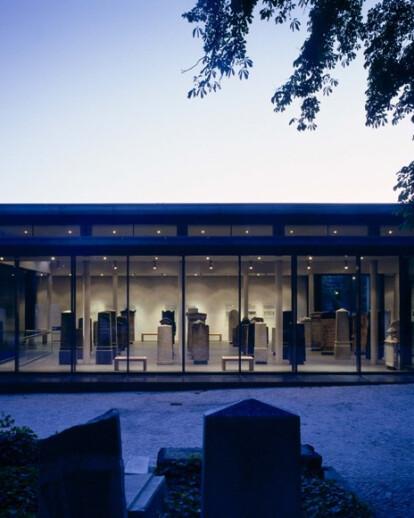 Lapidarium in the Schönhauser Allee