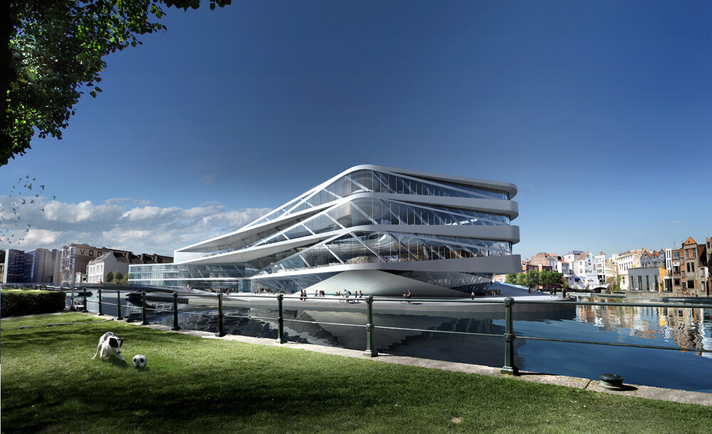 Waalse Krook - Urban Library and Centre for New Media