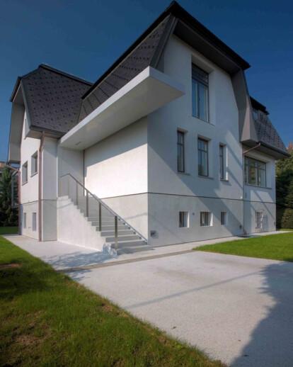 Renovation of an old Ljubljana villa