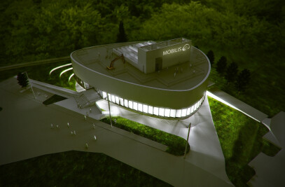 Mobilis interactive exhibition building