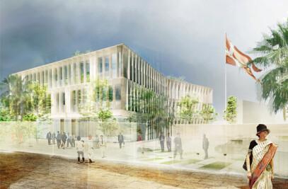 New Danish Embassy in New Delhi