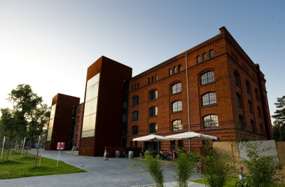 Adaptation of former granary for lofts in Gliwice, Poland