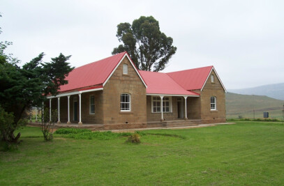 RESTORATION OF THE HOUSE AT KLERKS VLY