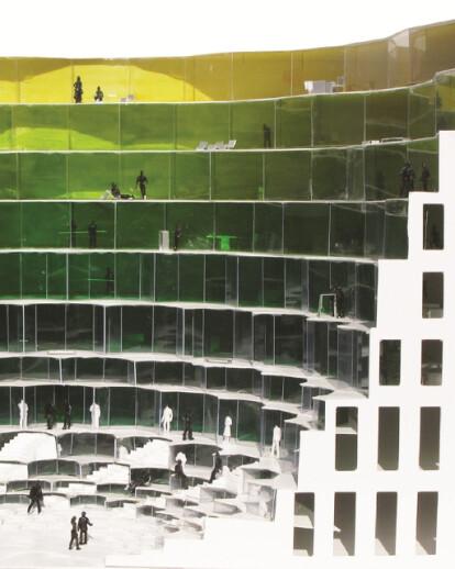 Designing in Teheran – Green Muqarnas