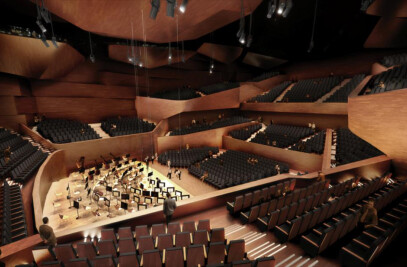 the new concert hall