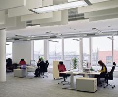 ENERGYbase: interior view