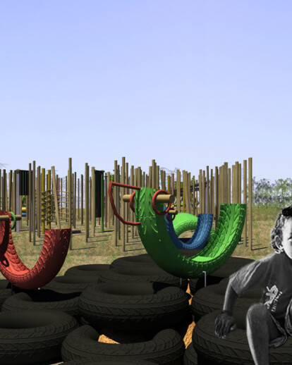 WasteArchi3 building playgrounds for the world's poorest children