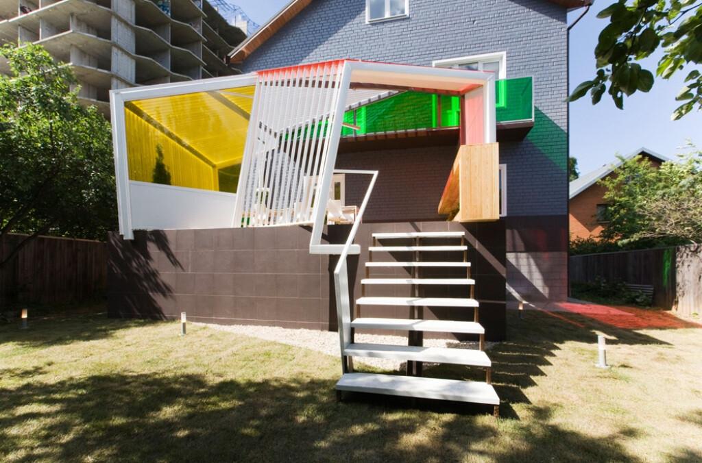 Summer terrace for TV show