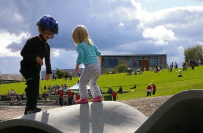 Town Hall Park at Kjenn in Lørenskog