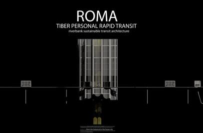 Rome Tiber personal rapid transit